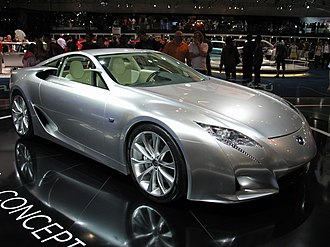 Lexus LFA - The second Lexus LF-A concept