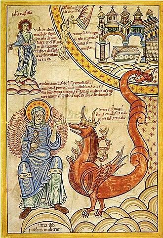 Liber Floridus - Image: Liber Floridus Woman