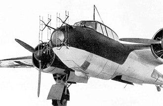 Dornier Do 17 - Dornier Do 17Z-10 nightfighter with FuG 220 Lichtenstein radar
