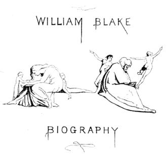 Life of William Blake (1880), volume 1, second title.png