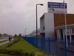 English: The Linamar auto parts factory in Swa...