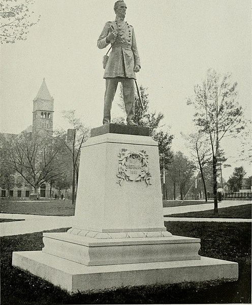 File:Lincoln, Grant, Sherman, Farragut - an account of the gift, the erection and the dedication of the bronze statues given by Charles H. Hackley to the city of Muskegon, Michigan - unveiled in Hackley (14577672349).jpg