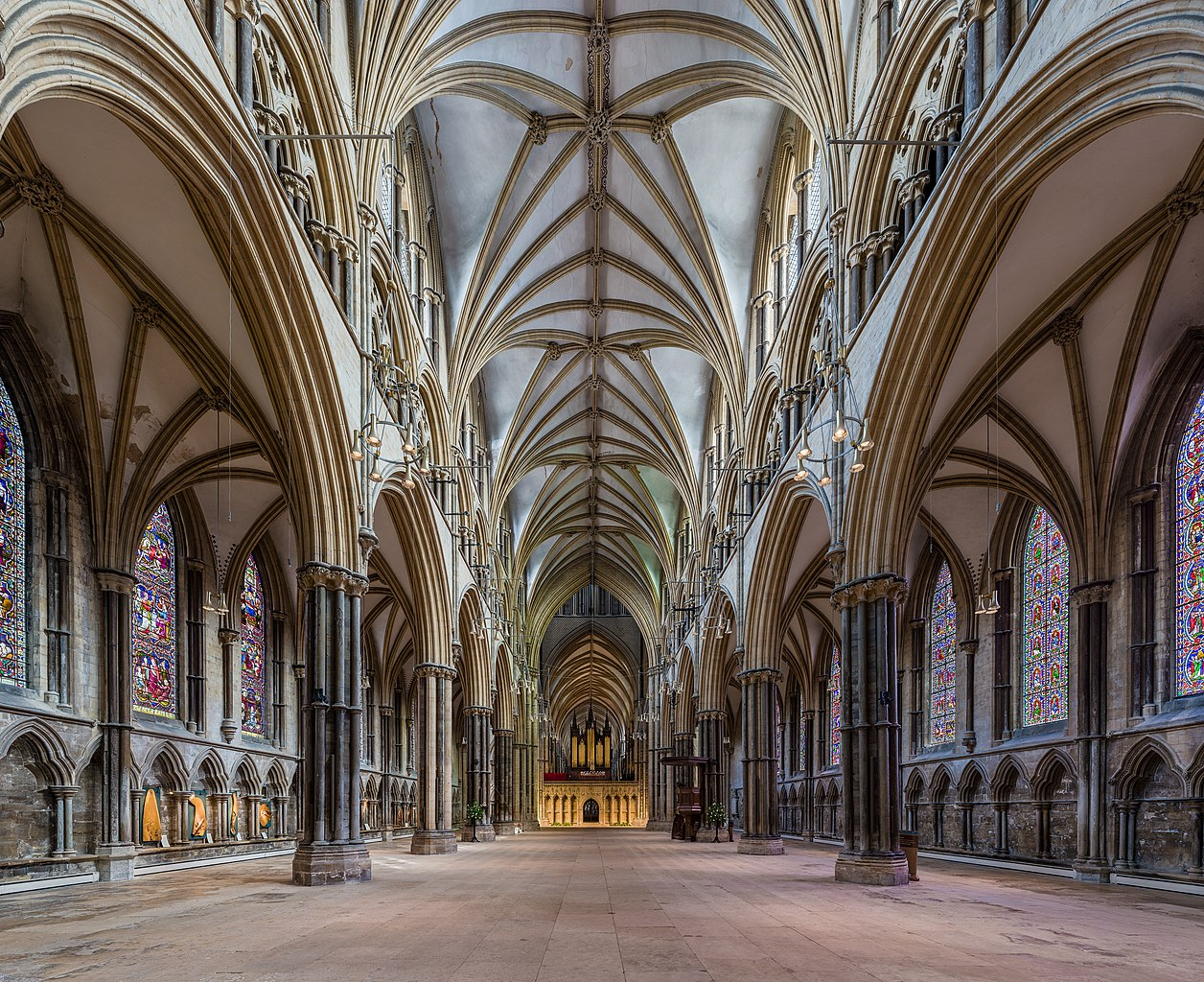 File Lincoln Cathedral Nave 1 Lincolnshire Uk Diliff