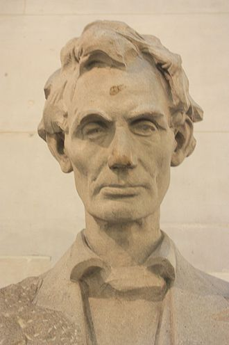 Andrew O'Connor (sculptor) - Bust of Abraham Lincoln (1930), Royal Exchange, London