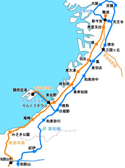 大阪 jr 路線 圖