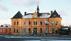 Linköping Central Station - Image: Linköpings central jul