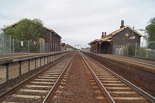 Little River railway station railway station in Little River, Melbourne, Victoria, Australia