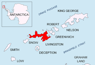Bay of the South Shetland Islands