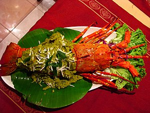 Lobster from Mangalore, India