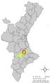 Localització de Sempere respecte del País Valencià.png
