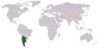 Ubicación en el mundo (Location on the world map)
