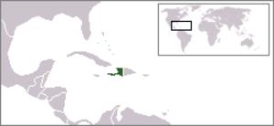 Environment of Haiti - Haiti is located in the Caribbean.