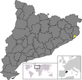 Location of Castell-Platja d'Aro.png