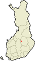 Location of Keitele in Finland.png