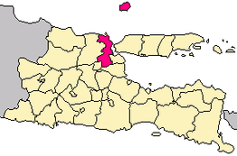 Gresik in Oost-Java