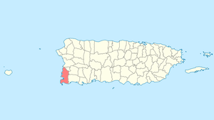 Location of Cabo Rojo in Puerto Rico