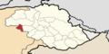 Locator map of GBA-18 (Diamer-IV).png