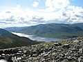 Loch Ericht from the summit of Ben Udlamain - geograph.org.uk - 39676.jpg