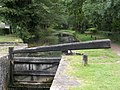 Lock Gate on Neath Canal - geograph.org.uk - 549592.jpg