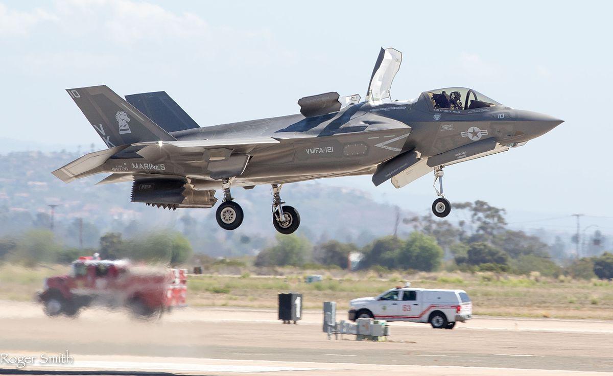 Lockheed Martin F-35B Lightning II - 2015 Miramar Air Show (21743388048).jpg