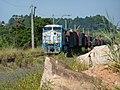 Locomotiva de comboio que passava sentido Boa Vista na Variante Boa Vista-Guaianã km 209 em Salto - panoramio.jpg