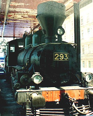 Symphony No. 12 (Shostakovich) - Locomotive of Lenin's train, on which he arrived at Finland Station, Petrograd in April, 1917.