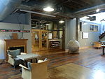 Loft Literary Center lobby at Open Book, Minneapolis, August 2012.jpg