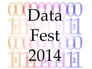This is the first logo for Datafest 2014