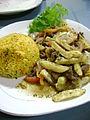 Lomo saltado arroz amarillo.JPG