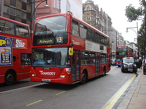 London Bus route 13 Oxford Street 038.jpg