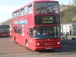 London bus route 86 Stratford Bus Station.jpg