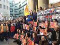 London protest 2015 Ankara bombings (2).jpg