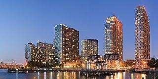 Long Island City Neighborhood of Queens in New York City