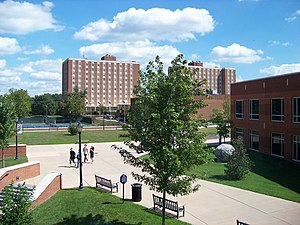 Longwood University - A view of Longwood University's campus