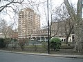 Looking across Cartwright Gardens to Hughes-Parry Hall - geograph.org.uk - 1106732.jpg