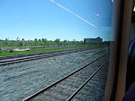 Looking out the left window on a trip from Union to Pearson, 2015 06 06 A (418) (18644681591).jpg