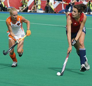 Maartje Goderie field hockey player