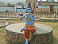 Lord Krishna Statue at a Park in Bheemili.jpg