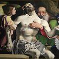 Lorenzo lotto, polittico di san domenico di recanati, 1508, 02 pietà 3.jpg