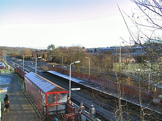 Lostock railway station Railway station in Greater Manchester, England
