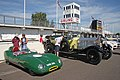 Lotus 11 and Rolls-Royce Silver Ghost at Goodwood Circuit -exfordy.jpg