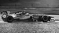 Lotus T128 Heikki Kovalainen 2011 Belgian GP (19167439932).jpg