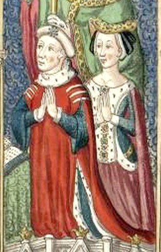 Louis, Count of Vendôme - Louis and his first wife, Blanche
