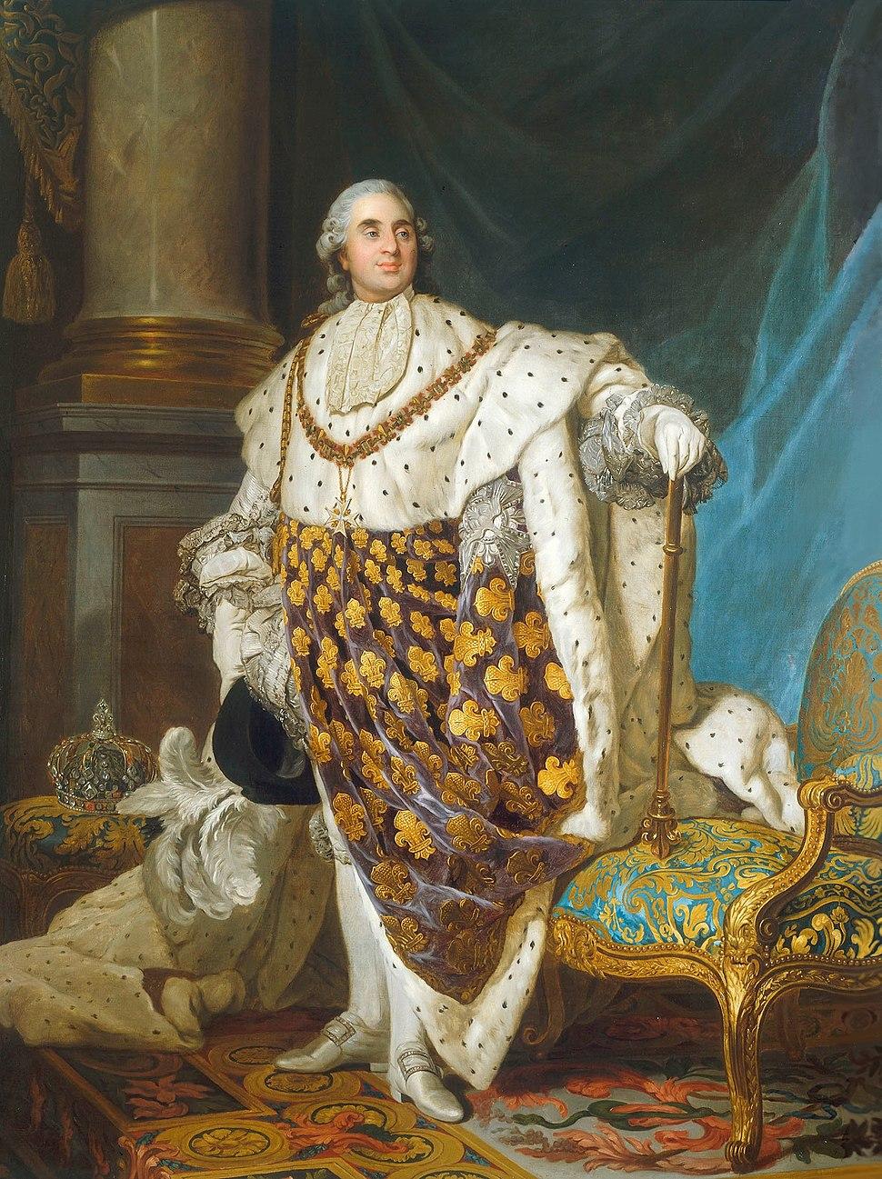 Louis XVI en costume de sacre - Joseph-Siffred Duplessis