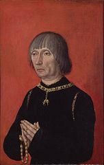 Portrait of Lodewijk van Gruuthuse