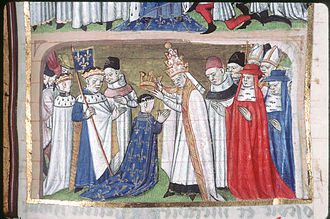 Frankish Papacy - Coronation of Louis the Pious