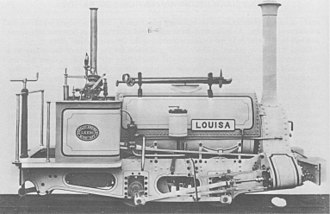 Hunslet Engine Company - Louisa, works number 195 of 1877, one of the earliest examples of the Quarry Hunslet type