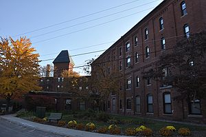Wamesit Canal-Whipple Mill Industrial Complex - Image: Lowell MA Whipple Mill Industrial Complex
