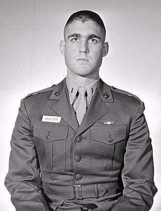Robert Mueller - Lt Robert S. Mueller, USMC