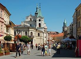Krakowskie Przedmieście w Lublinie